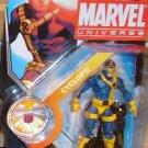 Marvel Universe 2011 JIM LEE X-MEN CYCLOPS FIGURE 010 3 3/4th Inch Uncanny Blue