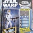 Star Wars TCW 2010 CLONE PILOT ODD BALL FIGURE CW14 Animated Series