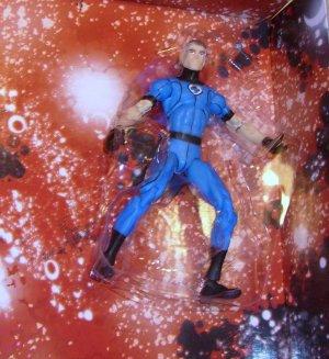 Marvel Universe 2010 FANTASTIC FOUR REED RICHARDS FIGURE Loose Blue FF