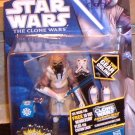 Star Wars TCW 2011 WINTER JEDI MASTER PLO KOON Figure CW53 Animated Series