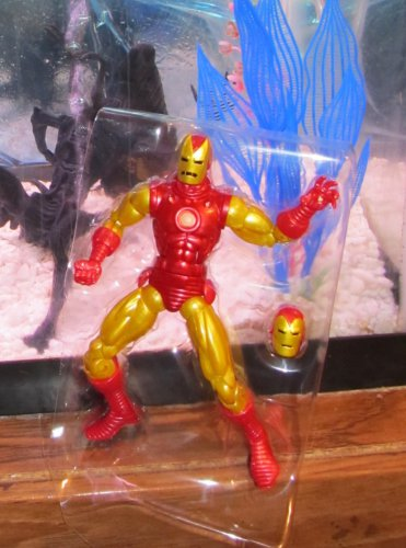Marvel Legends 2013 Monger Series HORNHEAD IRON MAN FIGURE Loose 6 Inch Classic