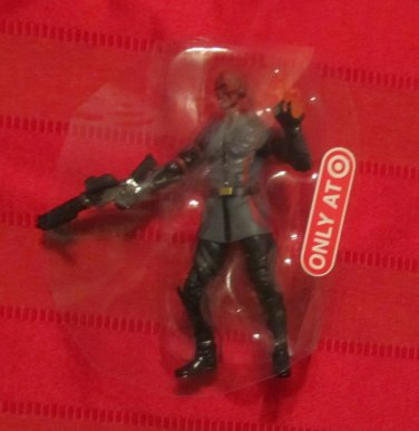 Marvel Universe 2011 COSMIC FIRE RED SKULL Figure Loose Captain America Target Ex.