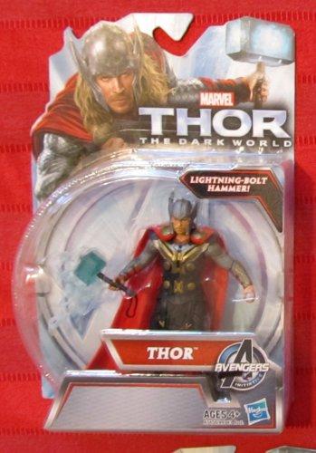 Marvel Thor Dark World 2013 MOVE 2 THOR FIGURE 3 3/4 Inch Cinematic Universe