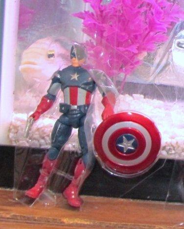 Marvel Universe 2012 AVENGERS VARIANT MOVIE CAPTAIN AMERICA Figure Loose Target Exclusive