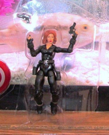 Marvel Universe 2012 AVENGERS VARIANT BLACK WIDOW Figure Loose Target Exclusive