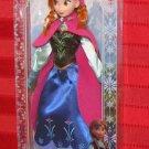 Frozen 2013 DISNEY STORE ANNA DOLL 12 Inch Barbie Size Figure Exclusive Arendelle