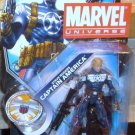 Marvel Universe 2011 COMMANDER STEVE ROGERS FIGURE 021 3 3/4 Inch Captain America