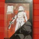 Star Wars Black 2015 FIRST ORDER SNOWTROOPER OFFICER FIGURE 6 Inch Toys R Us TRU