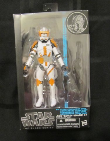 Star Wars Black 2015 CLONE COMMANDER CODY FIGURE 6 Inch Collector Series 14