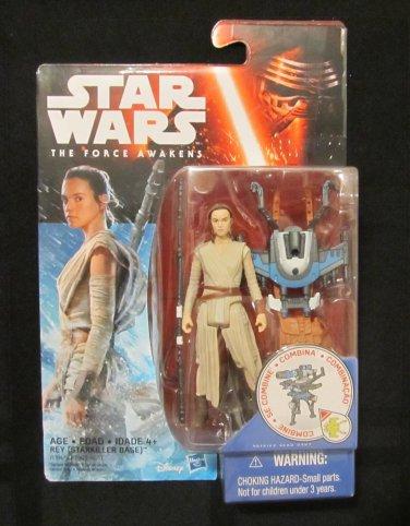 Star Wars 2015 REY (STARKILLER BASE) FIGURE 3 3/4 Inch Force Awakens