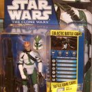 Star Wars TCW 2010 CLONE COMMANDER GREE FIGURE CW21 Animated Series