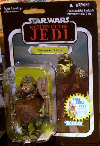 Star Wars 2011 GAMORREAN GUARD FIGURE Return of the Jedi VC21 Vintage Jabba's Palace