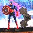 Marvel Legends 2012 AVENGERS MOVIE CAPTAIN AMERICA Figure Loose 6 Inch Walmart