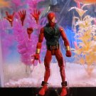 Marvel Legends 2015 SCARLET SPIDER FIGURE Loose 6 Inch Spider-man Rhino Wave