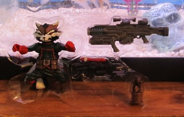Marvel Legends 2015 ROCKET RACCOON VARIANT FIGURE Loose 6 Inch Guardians of the Galaxy Boxed Set EE