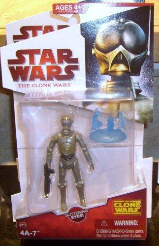 Star Wars TCW 2009 SPY DROID 4A-7 FIGURE CW13 3 3/4 Inch Animated Series