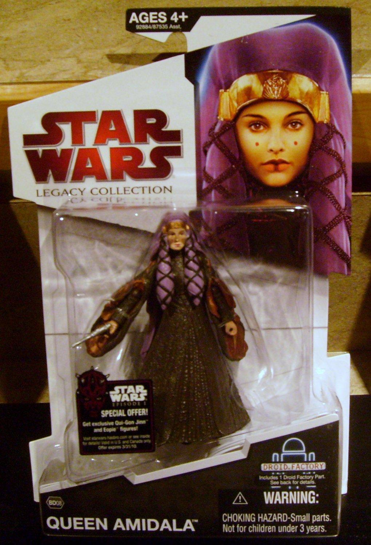 Star Wars 2009 QUEEN AMIDALA FIGURE BD08 Padme L8-L9