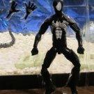 "Marvel Legends 2017 BLACK SUIT SPIDER-MAN FIGURE Loose 6"" Sandman Wave Symbiote"