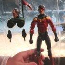 "Marvel Legends 2016 SPEED DEMON FIGURE Loose 6"" Spider-man Absorbing Man Wave"