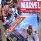 Marvel Universe 2011 ALPHA FLIGHT PUCK FIGURE 3 3/4 Inch Canada X-men