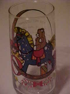 TOYLAND CHRISTMAS PEPSI COLA COLLECTOR PROMO GLASS