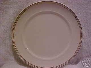VINTAGE SALEM  SYMPHONY PATTERN CHINA DINNER PLATE