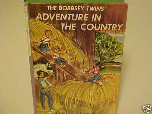 OLD KIDDY BOOK BOBBSEY TWINS ADVENTURE IN THE COUNTRY