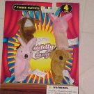 BRAND NEW SET ANIMAL FINGER PUPPETS COW PIG PUPPY BUNNY
