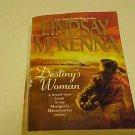 Destiny's Woman Lindsay McKenna PB APACHE PILOT AKIVA