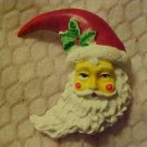 FESTIVE SANTA CLAUS CHRISTMAS PIN BROOCH