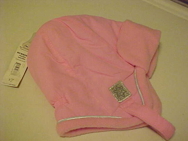BRAND NEW FADED GLORY PINK BABY INFANT WINTER HAT