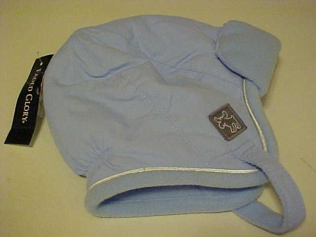 BRAND NEW FADED GLORY BLUE BABY INFANT WINTER HAT