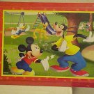 NEW DISNEY MICKEY MOUSE & FRIENDS WOOD WALL PLAQUE