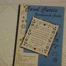 FABULOUS 1950S CAROL CURTIS NEEDLEWORK GUIDE BOOK