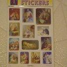 NEW 52 TOTAL 13 UNIQUE BIRTH OF JESUS CHRIST STICKERS