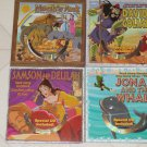 WONDERFUL BRAND NEW SET OF 4 BIBLE STORY CHILDRENS BOARD BOOKS + SING ALONG CD