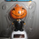 BRAND NEW Solar Powered Dancing Jack-o-Lantern Wiggles Head & Body IN SUNLIGHT