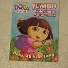 BRAND NEW DORA THE EXPLORER ALL YEAR COLORING ACTIVITY BOOK