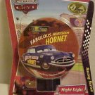 NEW DISNEY CARS HORNET NIGHT LIGHT W/ ROTARY SHADE TO DIRECT LIGHT WHERE DESIRED