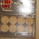 "NEW SHEPHERD BRAND HEAVY DUTY 16 SELF-ADHESIVE 1"" DIAMETER FELT GARDS #9952"