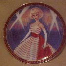Danbury Mint 1965 American Girl Barbie In Holiday Dance Outfit Portrait Plate