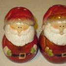 "Brand New Porcelain 3"" Tall Santa Claus Christmas Holiday Salt & Pepper Shakers"