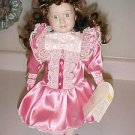 """New in Box Princeton Gallery Valerie Victorian Dressed 14"""" Tall Porcelain Doll"""