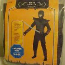 BRAND NEW BEAUTIFUL HALLOWEEN OR PLAY NINJA FIGHTER COSTUME BOYS S 4-6X