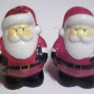 Brand New Porcelain Christmas Santa Claus Figurine Salt & Pepper Shakers