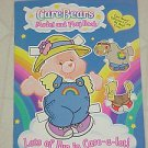 Brand New Care Bears Press Out & Play Acitivy Book Chear Best Friend Harmony