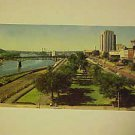 VINTAGE POSTCARD POST CARD VIEW OF KELLOGG BOULEVARD ST. PAUL MN