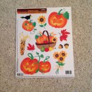 New Thanksgiving Fall Autumn Harvest Jack-o-lantern Corn 10 Static Window Clings