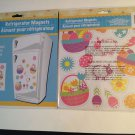 New in Package Refrigerator Magnets Set 15 Easter Eggs Baskets Decorations