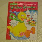 New Coloring & Activity Book Sesame Street Winter Wonder Elmo Big Bird Cookie